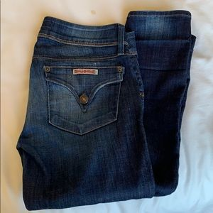 "HUDSON Collin 29"" inseam skinny jeans size 26"